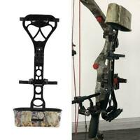 Archery 6 Spot Arrow Quiver Holder Quick Release Lock Mounting Compound Bow Case