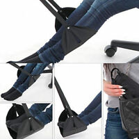 Relax Portable Travel Footrest Hammock Carry Flight Leg Pillow Soft Pad Airplane