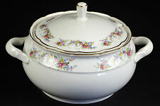 TK Thun Czechoslovakia Fine China Porcelain Soup Tureen Serving Piece 25 Made in