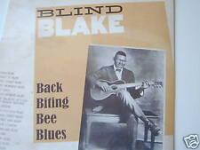 Blind Blake-Vinyl  LP Back Biting Bee Blues NEW-OVP