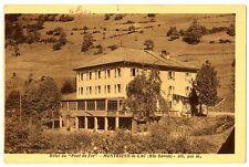 """CPA 74 Haute-Savoie Montriond-le-Lac Hôtel du """"Pont de Fer"""""""