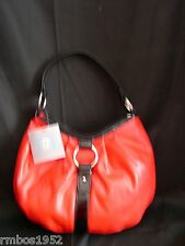 Relativity Purse Handbag Red NEW w Tags Hobo