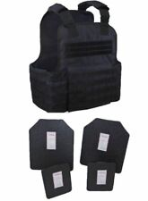 Tactical Scorpion Body Armor Muircat 11x14 Carrier Level IIIA Plates | Black