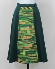 Vintage Pendleton Woolens Hand Tailored Embroidered Woven Wool Skirt