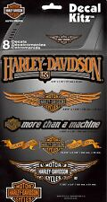 HARLEY DAVIDSON DECAL KITZ -SET OF 8 DECALS- (3900)