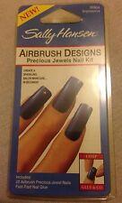 Sally Hansen Airbrush Designs Precious Jewels Nail Kit Impressive (no Glue)