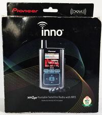 PIONEER inno xm2go PORTABLE SATELLITE RADIO w MP3 & HOME ACCESSORY Kit GEX-INNO1