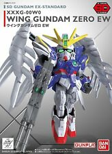 Bandai Hobby Endless Waltz Wing Gundam Zero SD EX-Standard Model Kit USA Seller