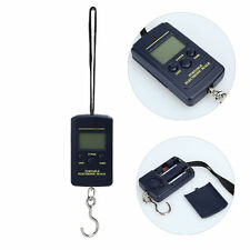 40Kg/10g Portable Electronic LCD Digital Hanging Luggage Weight Hook Scale Hook