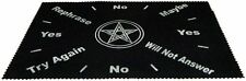 Large Velveteen Pentagram Pendulum Dowsing Divination Mat Wiccan  FREE SHIPPING