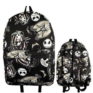 The Nightmare Before Christmas Men Backpack waterproof casual travel School Bag