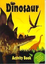 DINOSAUR ACTIVITY BOOK - YELLOW EDITION