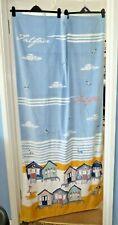 Fat Face Beach Towel Beach House Print Excellent Condition