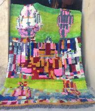 New, soft wool modern design Beni Ouarain  Ourain rug 310 x 220 cm