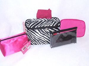 Caboodles Clutch Corral Cosmetic Evening Party Small Handbag Case Purse Tote Bag