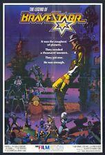THE LEGEND OF BRAVESTARR Movie POSTER 27x40 VIOCE(S) Pat Fraley