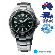 SEIKO SAMURAI PROSPEX SRPB51 SRPB51K1 Black Dial Diver Stainless Steel Men Watch