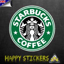 Star Bucks Coffee SKATEBOARD GUITAR Fridge CAR Scooter DECAL VINYL STICKER