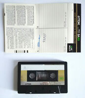 MC Musicassetta TDK SA90 sa 90 vintage compact cassette audiotape USATA no agfa