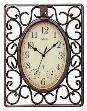 AMS 5976 - Wanduhr - Gartenuhr - Aussenuhr - Antik Optik - Uhren Neu