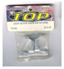 Vintage RC Car Integy / HPI RTR3 Alloy Castor Block Silver Aluminum Hop-UP Part