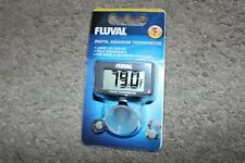 NEW Fluval Digital Aquarium LCD Fully Submersible Fresh & Saltwater Thermometer
