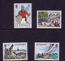 Guernsey 1984 150th Death Anni of Lt General Sir John Doyle SG 328/31  MNH