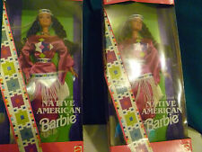 DOLLS OF THE WORLD (2 NATIVE AMERICAN) 3RD EDITION #A 1994