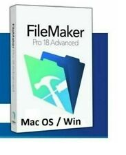 FileMaker Pro Advanced 18 for MacOS/Windows. Full version , Multilingual Fast