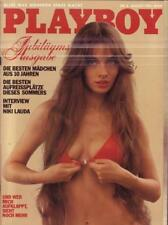 Playboy Nr. 08/1982 Jubiläumsausgabe Interview mit Niki Lauda