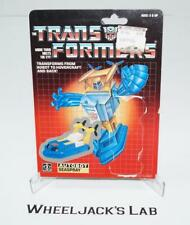 Seaspray Cardback Vintage 1985 G1 Transformers Hasbro Action Figure