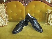 VINTAGE JOHNSTON & MURPHY HERITAGE PLAIN TOE OXFORDS SIZE 9.5C/A MADE IN USA