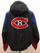 Vintage Montreal Canadiens NHL Starter Jacket Size Large