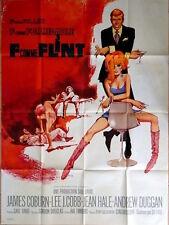 IN LIKE FLINT French Grande movie poster 47x63 JAMES COBURN JEAN HALE
