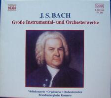 J.S.Bach Große Instrumental-und Orchesterwerke 5 CD`s