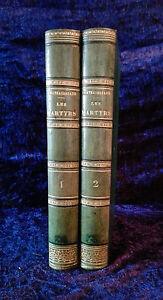 Les Martyrs - Chateaubriand - 2 vols - 1848 - livre ancien littérature