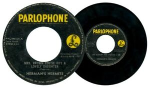 Philippines HERMAN'S HERMITS Mr. Brown You've Got A Lovely... 45 rpm Record