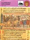 FICHE CARD La prédication de la Croisade Pierre l'Ermite les Croisés France 90s
