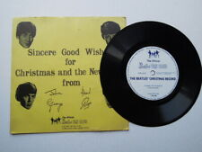 THE BEATLES 1963 CHRISTMAS FLEXI SUPERB CONDITION EX + !