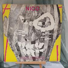 "Nico procesión 12"" Reino Unido 1982 solo 4 Track EP 1/2 Rec 112-Velvet Underground"