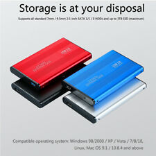 Portable USB 3.0 2TB 1TB 500GB External Hard Drive Disk HDD 2.5'' For PC Laptop