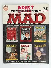 The Worst From Mad #1(1956-1957) FN-VF with Record Labels/Travel Stickers Intact