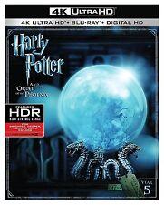 HARRY POTTER ORDER PHOENIX  (4K ULTRA HD) - Blu Ray - Region free