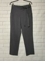 JOE BENBASSET Career Business Dress Pull On Pants M Size Bow Tie Gray