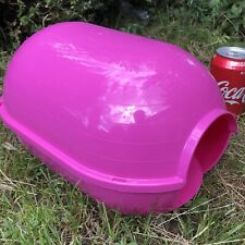 "Guinea Pig House Plastic 12 x 8"" Degus Rat Chinchilla ferret TINY RABBIT"