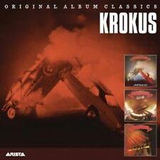 "KROKUS ""ORIGINAL ALBUM CLASSICS"" 3 CD NEU"