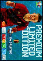 Kevin De Bruyne Panini UEFA Euro 2020 Adrenalyn XL Premium Limited Edition Card