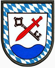 Wappen von Chieming  ,Pin, Aufbügler