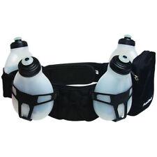 FuelBelt Helium 4 Bottle Hydration Belt Waist Belt Custom Fit Size XL