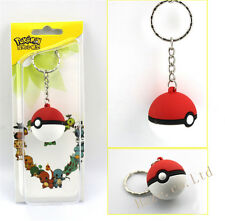 Pokemon Pokeball Pikachu Poke Ball Keychain Keyring Kid Pretty
